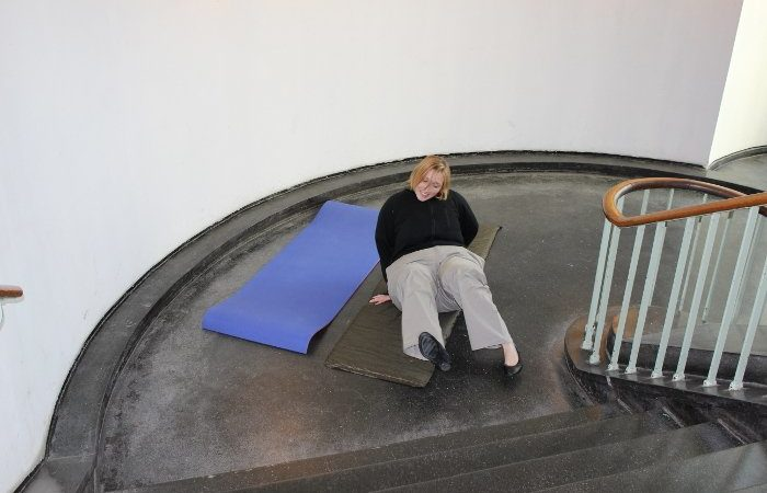 Station Rückenlage mit Adipositassimulation