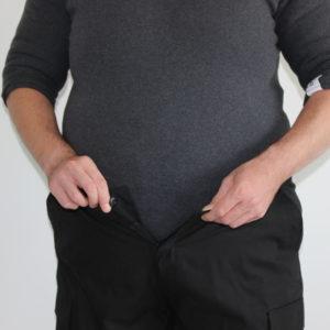 Adipositasanzug mit Hose