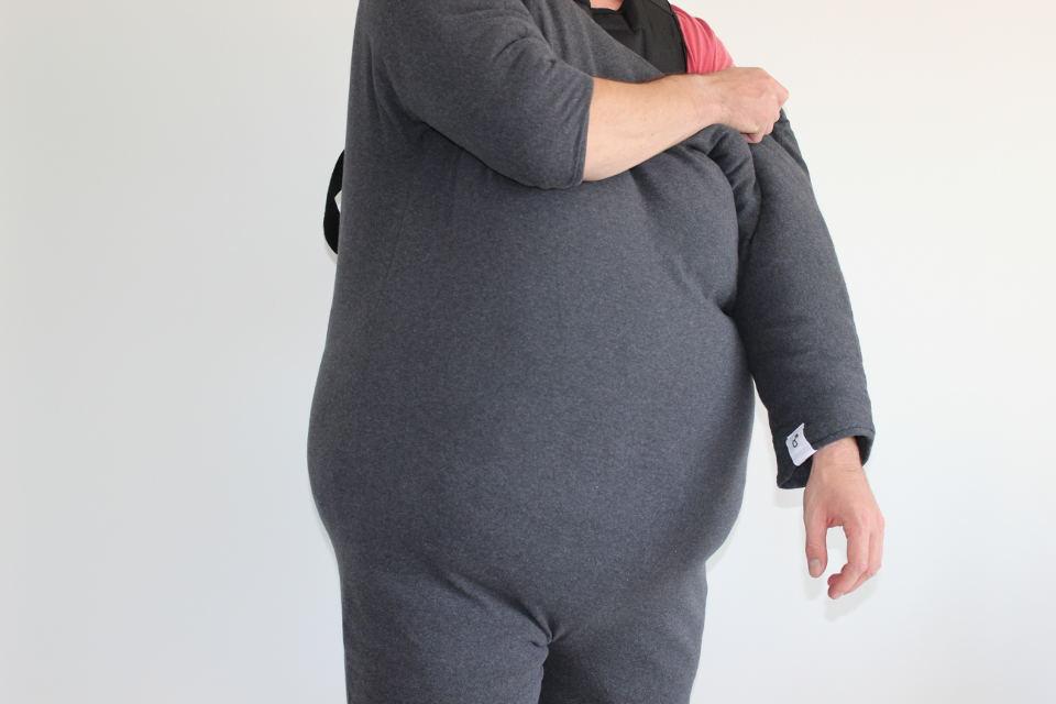 Anlegen des Fatsuits