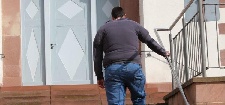 Adipositasanzug Rückenansicht